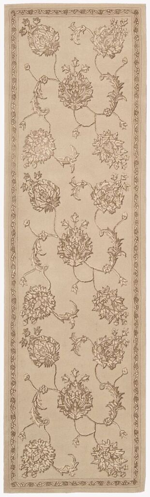 Regal Hand Tufted Sand Area Rugs