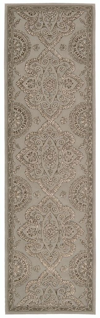 Regal Hand Tufted Grey Area Rugs