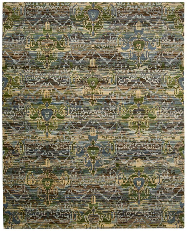 Rhapsody Machine Woven Seaglass Area Rugs