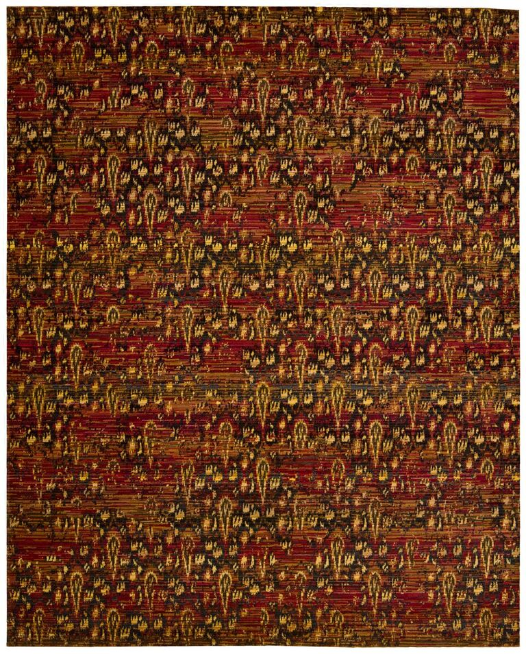 Rhapsody Machine Woven Flame Area Rugs