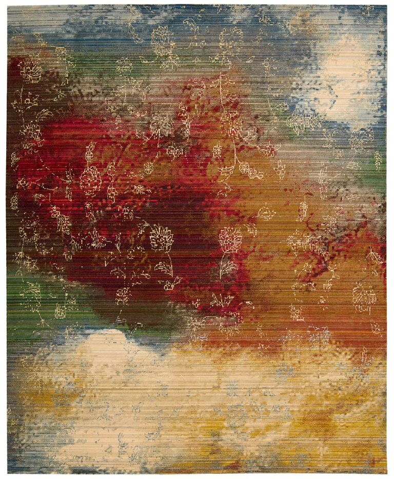 Rhapsody Machine Woven Autumn Area Rugs