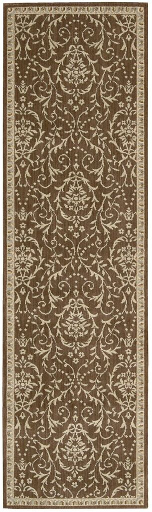 Riviera Machine Woven Chocolate Area Rugs