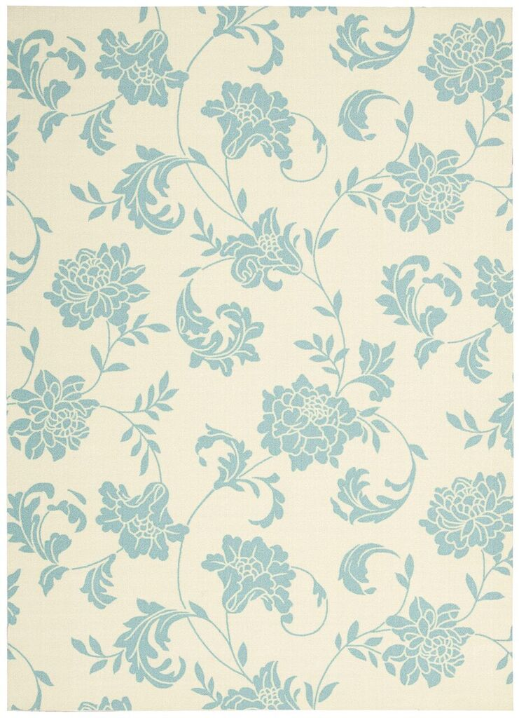 Home & Garden Machine Printed Ivory Area Rugs
