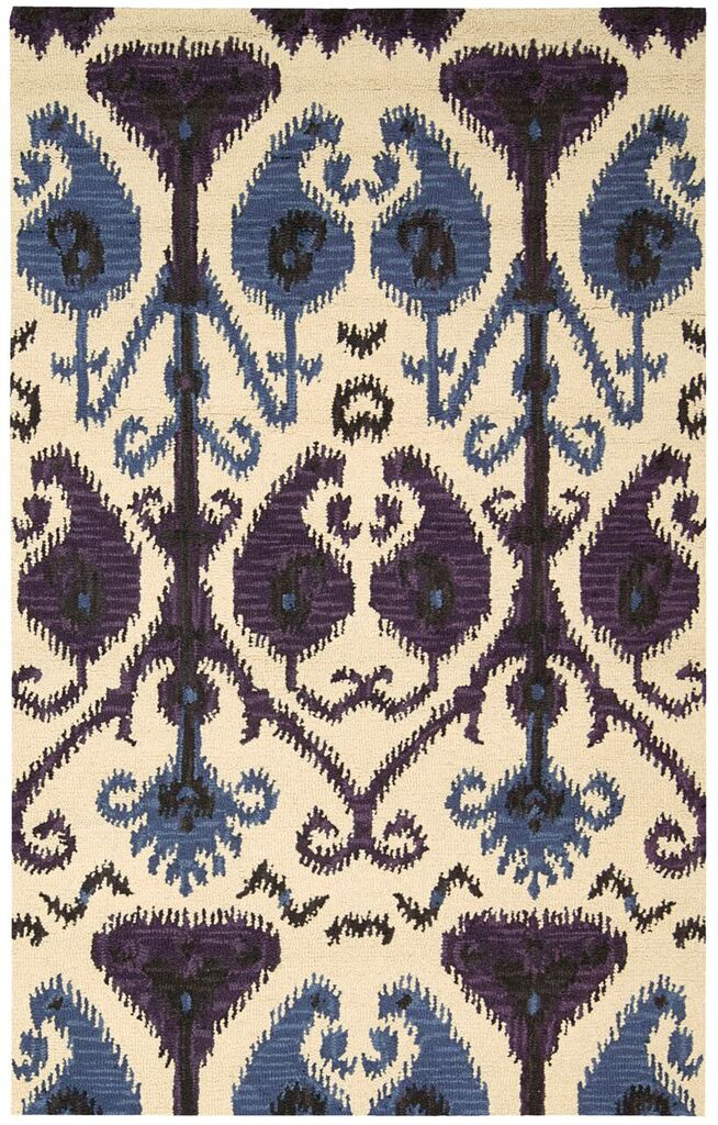 Siam Hand Tufted Beige Area Rugs