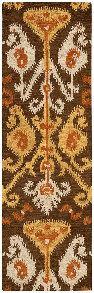 Siam Hand Tufted Chocolate Area Rugs