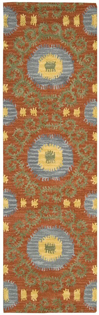 Siam Hand Tufted Rust Area Rugs
