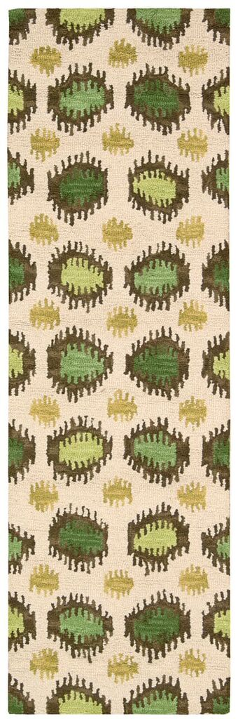 Siam Hand Tufted Ivory Area Rugs