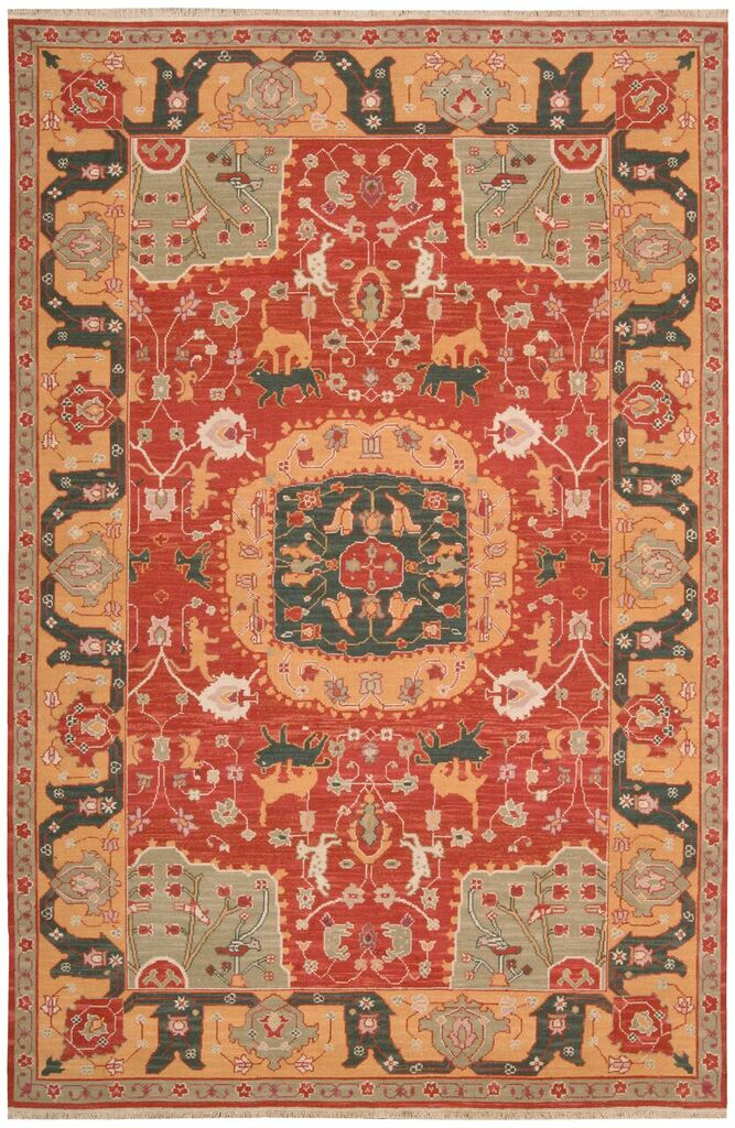 Nourmak Hand Woven Red Area Rugs