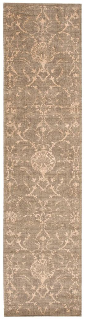 Silk Elements Machine Woven Moss Area Rugs