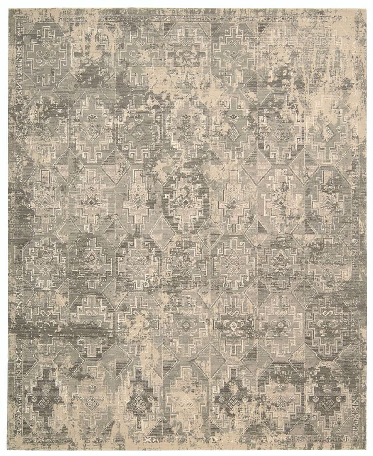 Silk Elements Machine Woven Mushroom Area Rugs