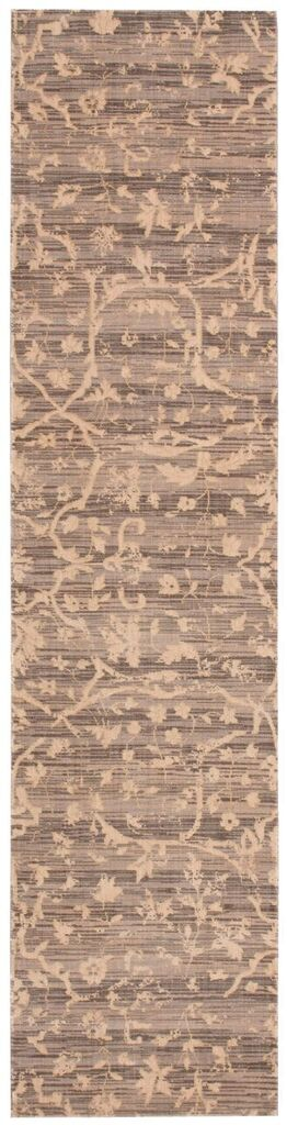 Silk Elements Machine Woven Taupe Area Rugs