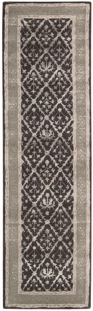 Symphony Hand Tufted Charcoal Area Rugs