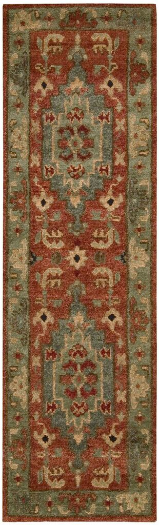 Tahoe Hand Knotted Rust Area Rugs