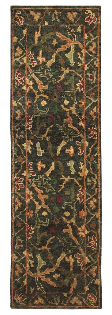 Tahoe Hand Knotted Charcoal Area Rugs