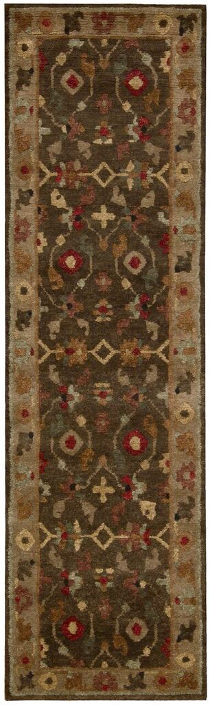 Tahoe Hand Knotted Espresso Area Rugs