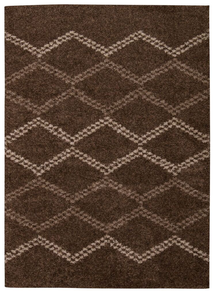 Tangier Machine Woven Latte Area Rugs