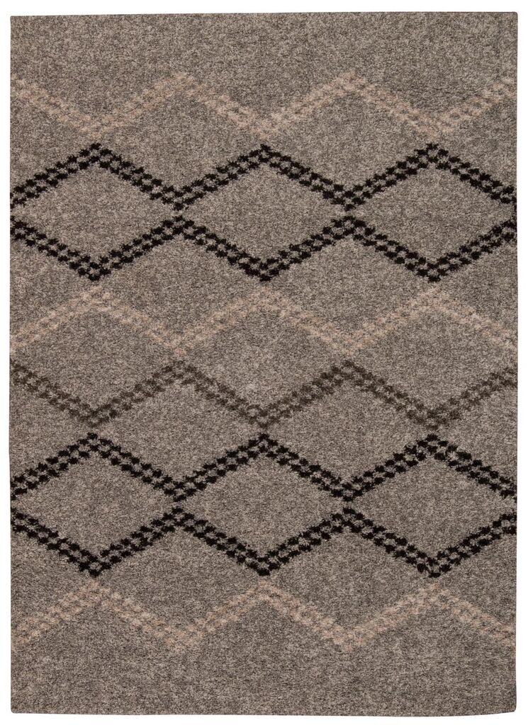 Tangier Machine Woven Silver Area Rugs