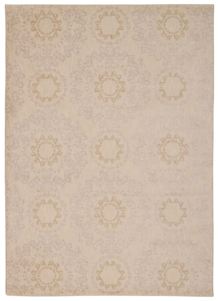 Tranquility Machine Woven Ivory Area Rugs