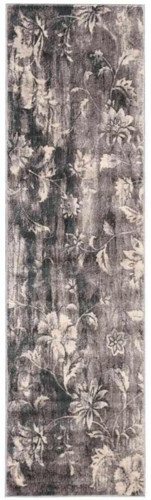 Utopia Machine Woven Ivory Slate Area Rugs