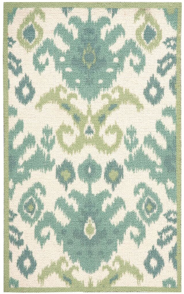 Vista Machine Tufted Ivory Area Rugs