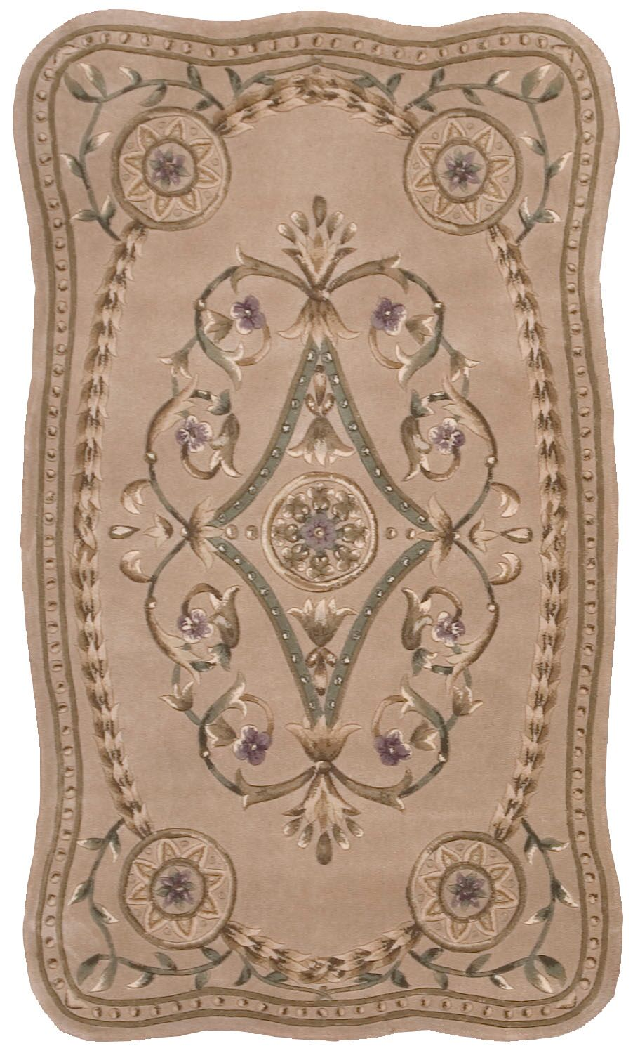 Versailles Palace Hand Tufted Beige Area Rugs