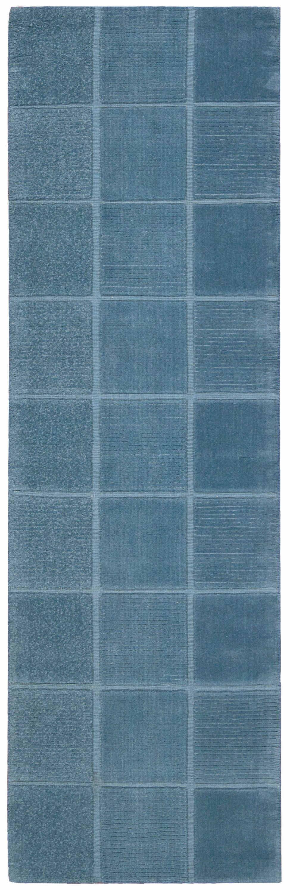 Westport Hand Woven Blue Area Rugs