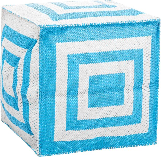 Mina Victory  Turquoise Outdoor Cube