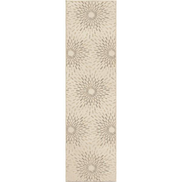 Orian Epiphany Stargazer Seashell Runner Rug