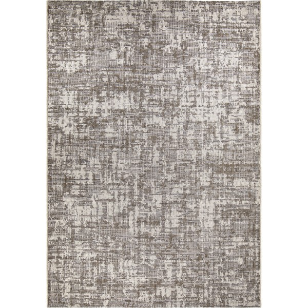 Orian Breeze Indoor/outdoor Dappled Canopy Gray Area Rug