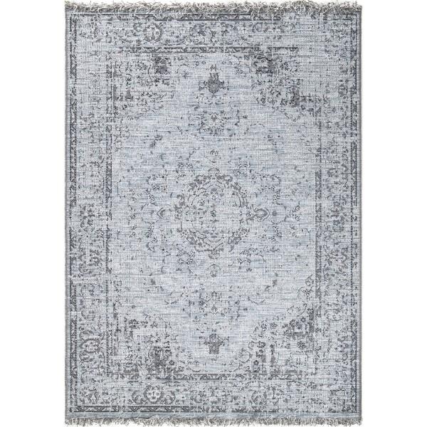 Orian Tweed Indoor/outdoor Charmed I'm Sure Blue Area Rug