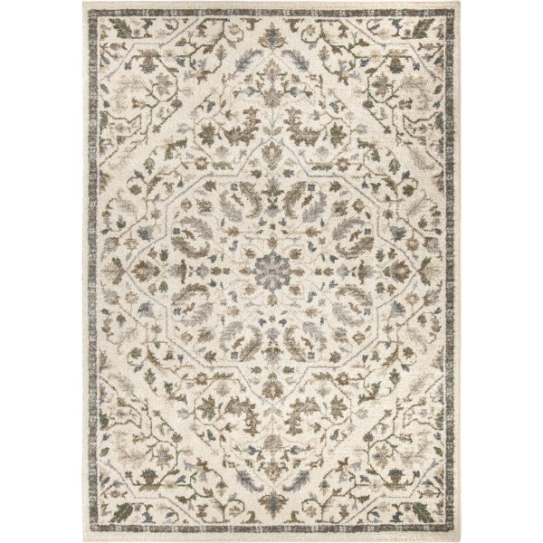 Orian Reflections Creswell Soft White Area Rug
