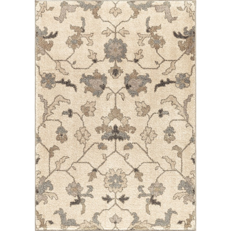 American Heritage Machine Woven Ivory Area Rugs