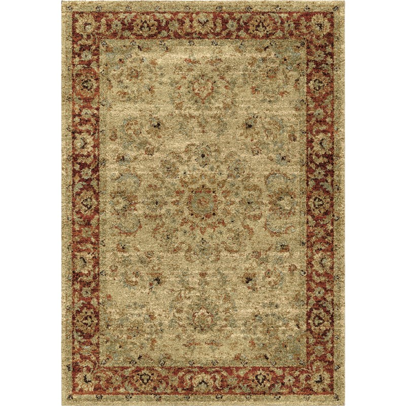Orian Rugs Traditional Traditional Promenade Multi Area Rug 5'3 X 7'6