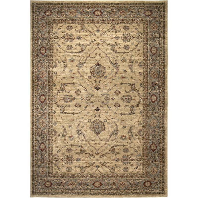 Ansley Mandalay Machine Woven Area Rug