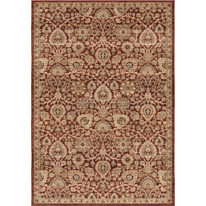 Dover Rouge Machine Woven Area Rug