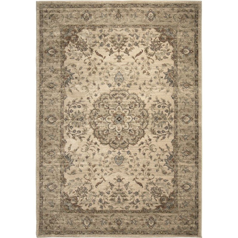 Prometheus Bisque Machine Woven Area Rug