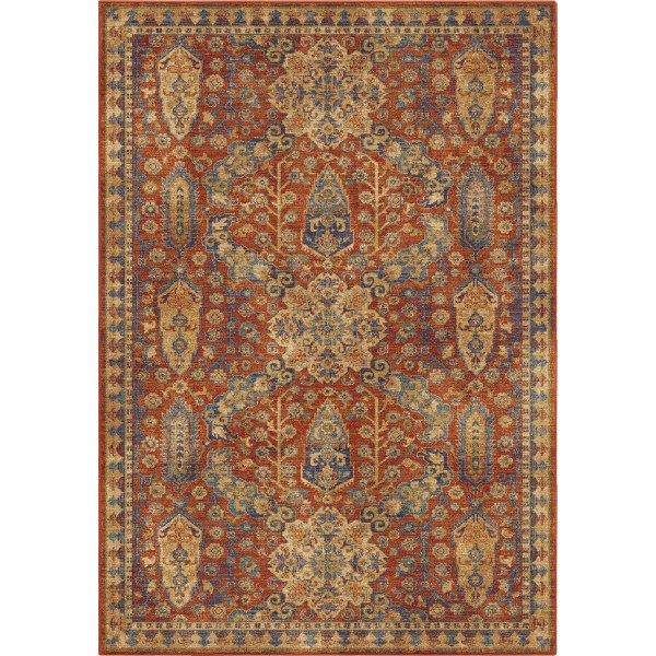 Orian Bombay Red Area Rugs