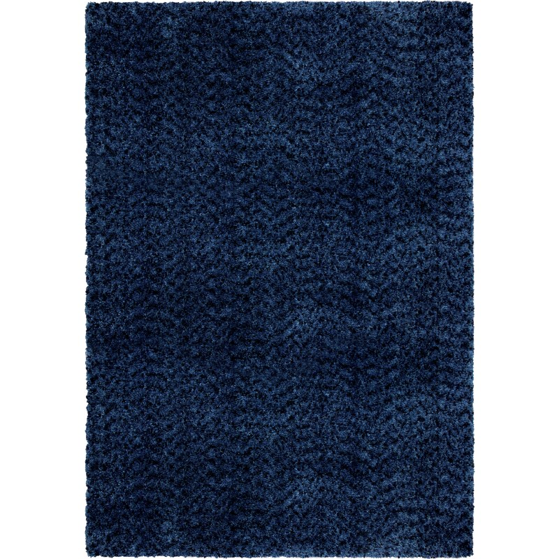 Solid Royal Machine Woven Area Rug