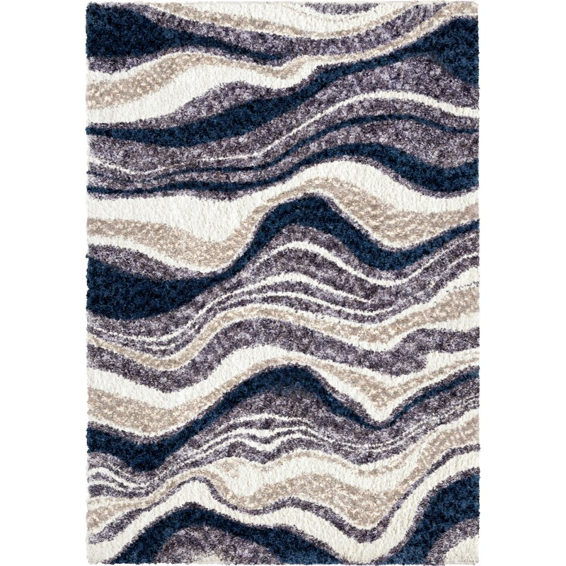 Agate Denim Machine Woven Area Rug