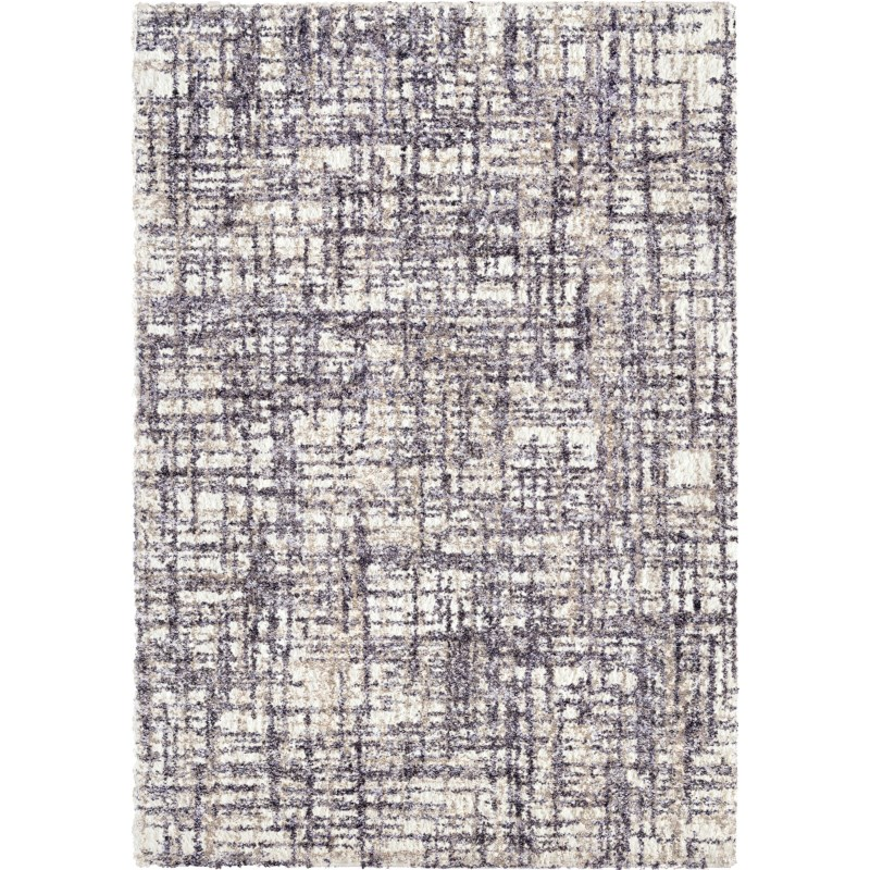 Cross Thatch Taupe Machine Woven Area Rug