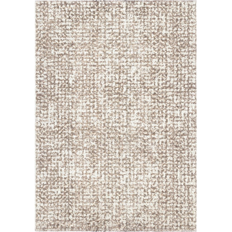 Ditto White Machine Woven Area Rug