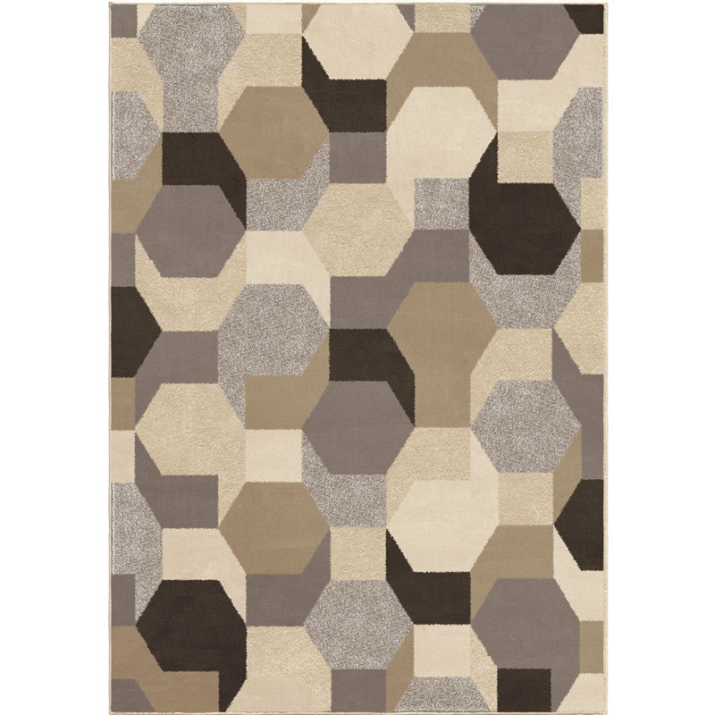 Orian Rugs Soft Shapes Osino Multi Area Rug 5'3 X 7'6
