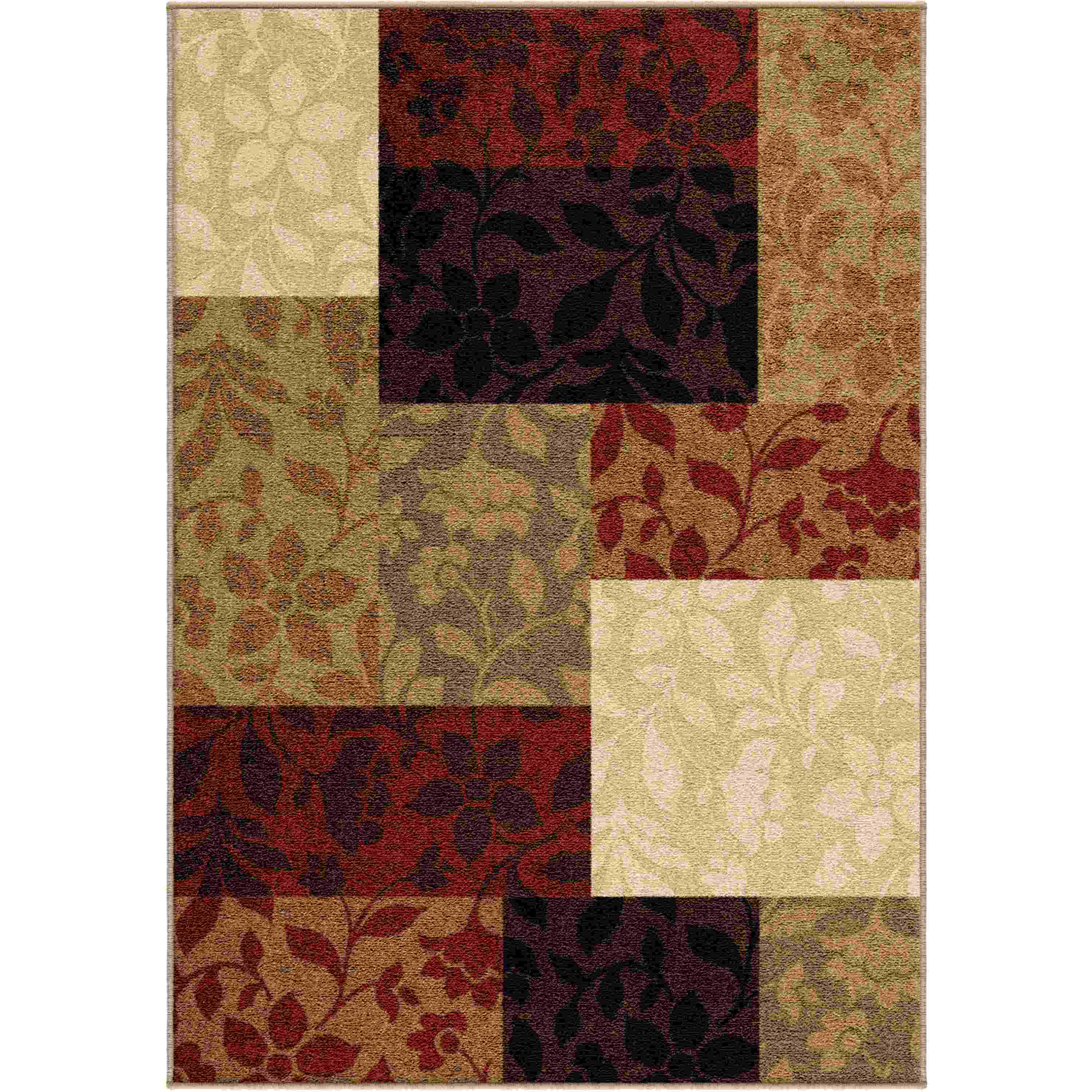 Orian Rugs Indoor/outdoor Blocks Monique Multi Area Rug