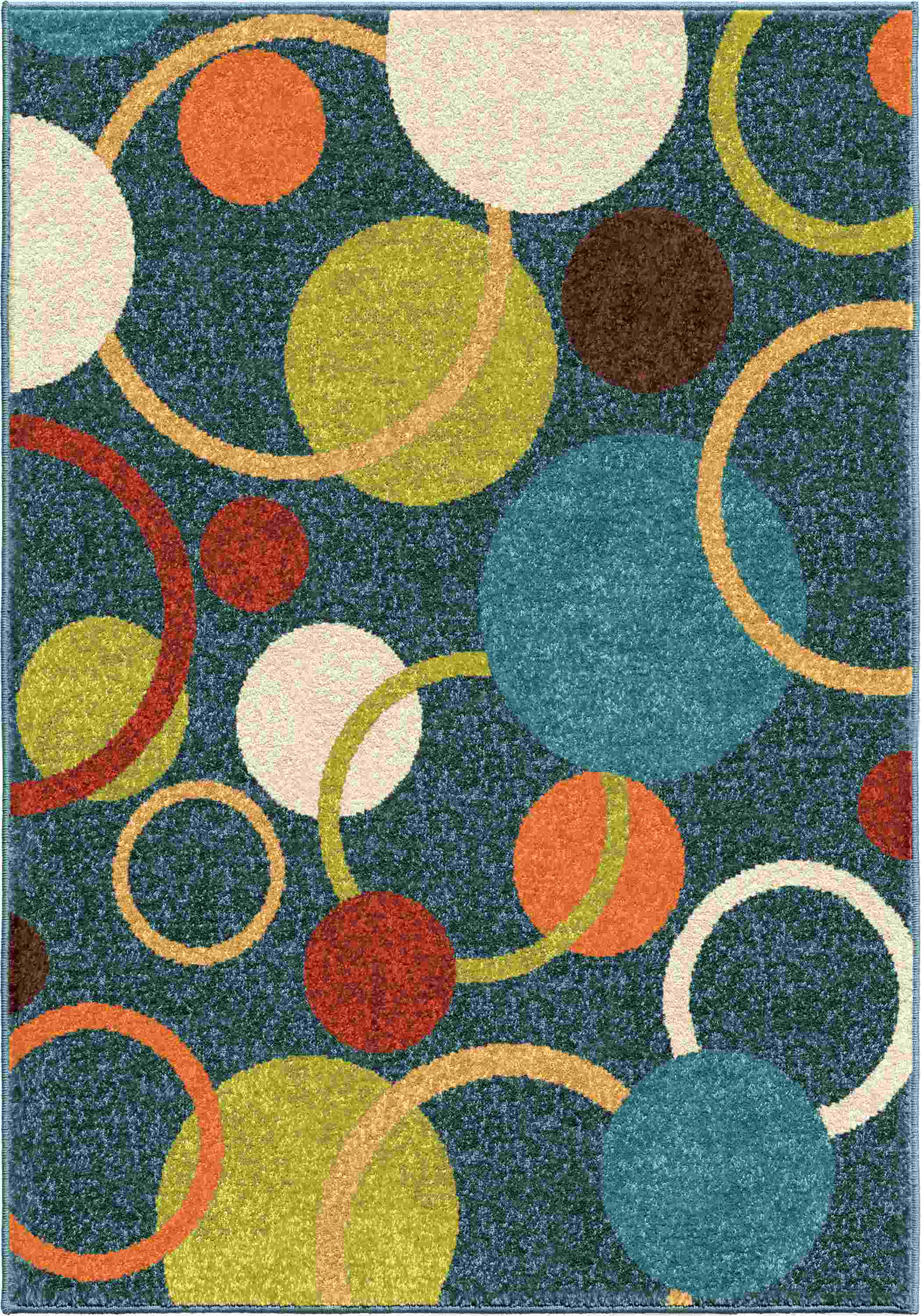 Orian Rugs Kids  Gumball  Admiral Blue Area Rug