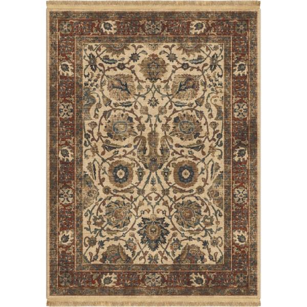 Orian Persian Varse Beige 5'3x7'6