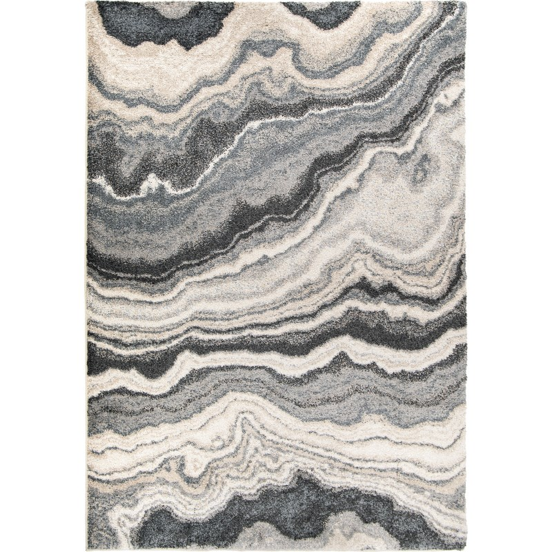 Cascade - Taupe Inkwell Machine Woven Area Rug