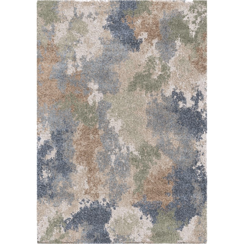 Dreamy - Muted Blue Machine Woven Area Rug