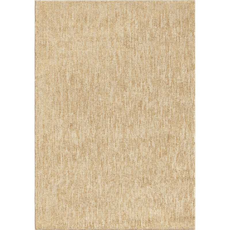 Solid Off White Machine Woven Area Rug