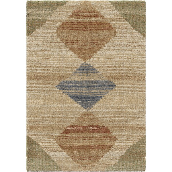 Orian Arabian Field Off White Area Rugs