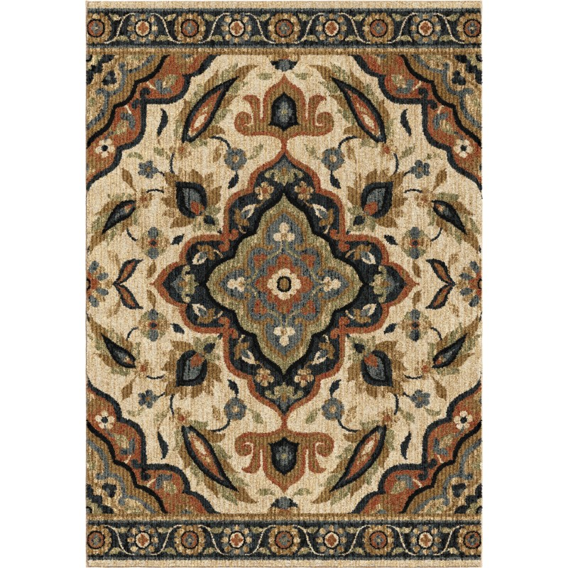 Wada Off White Machine Woven Area Rug